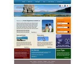 #5 para Website Design for Arctic Experience Iceland por mkhadka