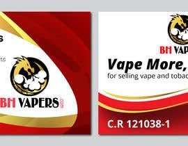 #63 for Design a Banner 400 x 280cm Vape Shop LED Banner by owlionz786
