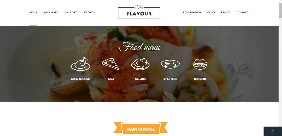 Penyertaan Peraduan #                                        8                                      untuk                                         Build a Website for a restaurant and a one page website for a small community