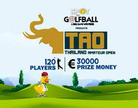 #7 cho Banner for Golf Tournament..  Thailand Amateur Open bởi azadbharati