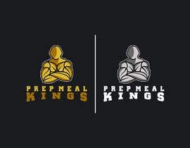 "#4 for The logo name is ""Prep Meal Kings"". We would like a unique modern look thats appealing to a fitness audience. Recommended colours can be: Gold, Black, White, Rose Gold, White and/or Red. af manhaj"
