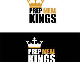 "#10 for The logo name is ""Prep Meal Kings"". We would like a unique modern look thats appealing to a fitness audience. Recommended colours can be: Gold, Black, White, Rose Gold, White and/or Red. af lija835416"