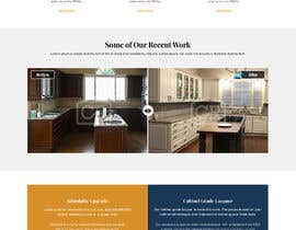 #9 for CR - Cabinet Refinishing WebSite by xprtdesigner