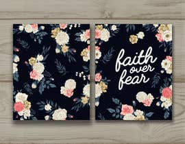 #219 for Faith Over Fear Book Cover Contest af KarenBustamante