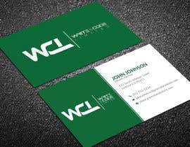 Nro 122 kilpailuun Design a Elegant, Professional, and Modern Business Card For a Software Development Company käyttäjältä nawab236089