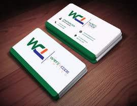 Nro 198 kilpailuun Design a Elegant, Professional, and Modern Business Card For a Software Development Company käyttäjältä romjanm760