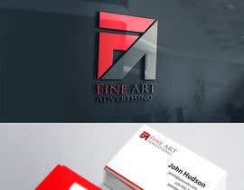 #93 untuk Design a Logo for FineART Advertising oleh GraphicsXperts