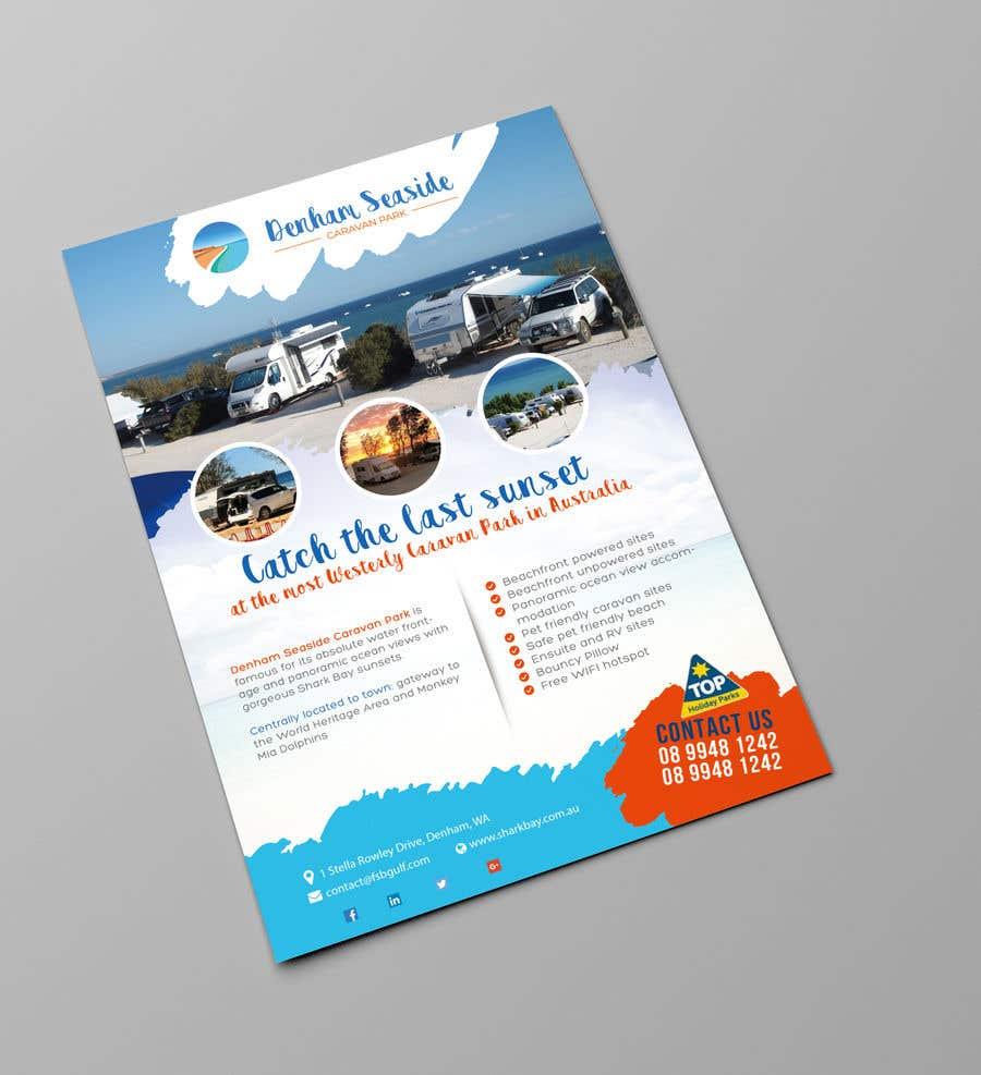 Bài tham dự cuộc thi #35 cho Design an A4 Advertisement for Denham Seaside Caravan Park
