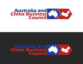 "jhonrame tarafından Logo design for "" Australia China Business & Culture Council"" colour base is navy blue and red, please reference both national flags için no 12"