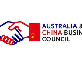 "chrisace008 tarafından Logo design for "" Australia China Business & Culture Council"" colour base is navy blue and red, please reference both national flags için no 9"