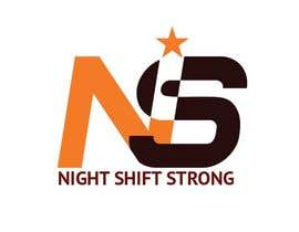 Nro 2 kilpailuun I need a logo designed for an ecommerce site called Night Shift Strong. Im a registered nurse on a neuro PCU floor. My site caters to nursing staff. käyttäjältä shamimshekh