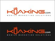LOGO DESIGN for marketing company: Koaxing.com için Graphic Design294 No.lu Yarışma Girdisi