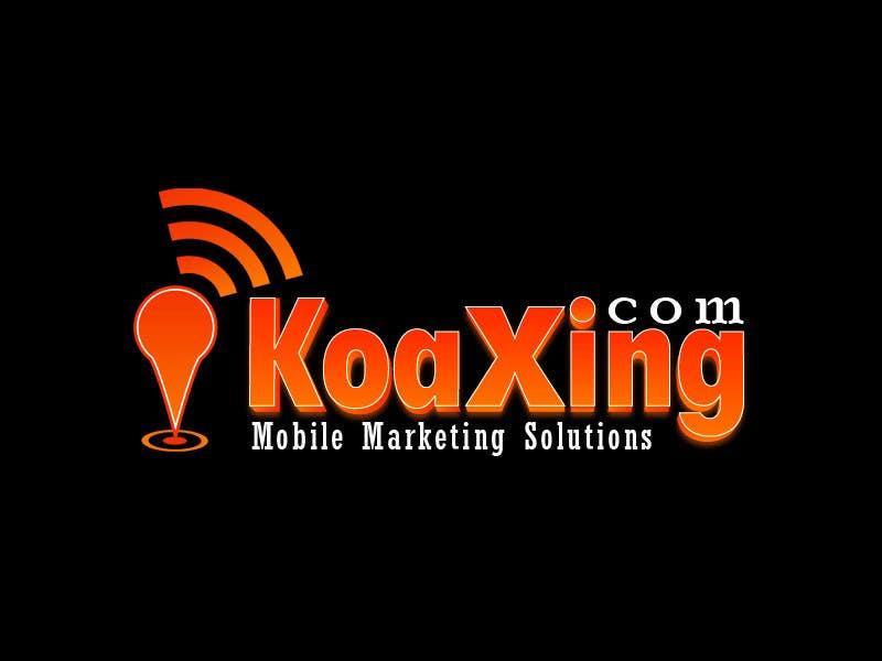 #744 for LOGO DESIGN for marketing company: Koaxing.com by mjuliakbar