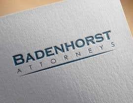 Nro 28 kilpailuun Design a Logo and Letterhead - Badenhorst Attorneys käyttäjältä asifabc