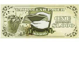 #18 untuk Dollar Note artwork for board game oleh gerardolamus