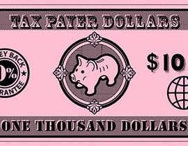 M33illustrator tarafından Dollar Note artwork for board game için no 39
