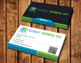 #74 cho Design some Business Cards for Bubble Futbol KC bởi dinesh0805