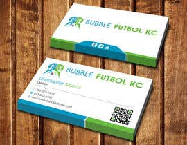 #76 cho Design some Business Cards for Bubble Futbol KC bởi dinesh0805