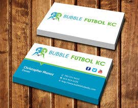 #77 cho Design some Business Cards for Bubble Futbol KC bởi dinesh0805