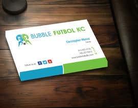 #15 cho Design some Business Cards for Bubble Futbol KC bởi SarahDar