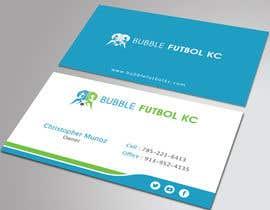 #41 cho Design some Business Cards for Bubble Futbol KC bởi HammyHS