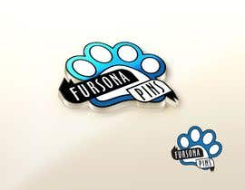 "#8 untuk Please design a logo for an enamel pin company named ""Fursona Pins."" It should be themed like an enamel pin, in the shape of a paw. oleh dikacomp"