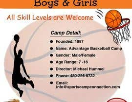 #6 for Professional Basketball Camp flyer by rustom861