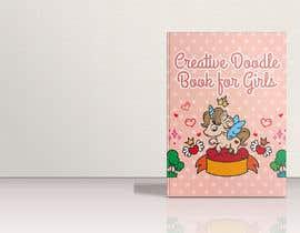 #34 για Creative Doodle Book for Girls Book Cover από zouhairgfx
