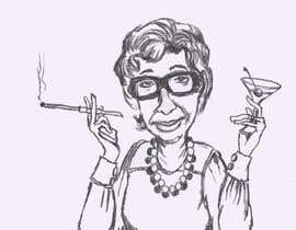 #15 for Cartoon / Caricature line drawing af duvenagelizette