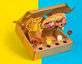 estefa03 tarafından Doner Kebab Box Packaging Designs için no 6
