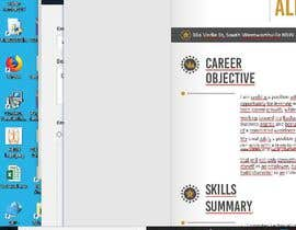 #8 for Resume Document by Pijamo