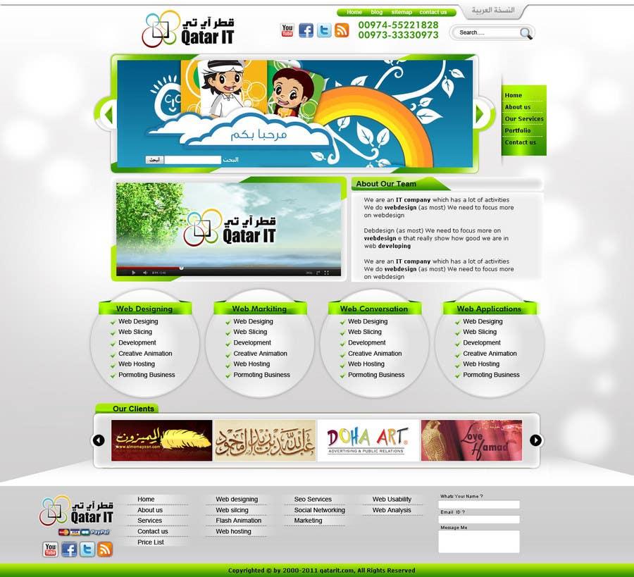 Inscrição nº                                         79                                      do Concurso para                                         Website Design for Qatar IT