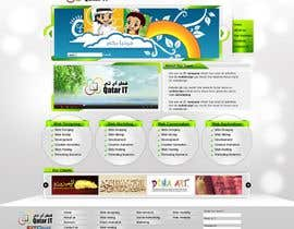 shakimirza님에 의한 Website Design for Qatar IT을(를) 위한 #79