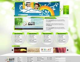 nº 78 pour Website Design for Qatar IT par shakimirza