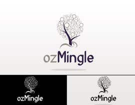 nº 523 pour Logo Design for ozMingle par iinspiration