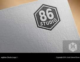 Nro 106 kilpailuun Design a Logo for Eight Six Studio käyttäjältä amitkumarkhare