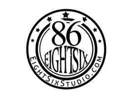 Nro 119 kilpailuun Design a Logo for Eight Six Studio käyttäjältä stajera
