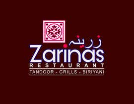 ovaisahmed4 tarafından Logo for Name board - Name of the restaurant is Zarinas  I would prefer a black background , however not specific on it , suggestions are welcome. için no 66