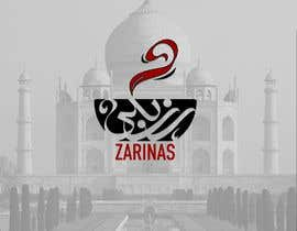 FaresK22 tarafından Logo for Name board - Name of the restaurant is Zarinas  I would prefer a black background , however not specific on it , suggestions are welcome. için no 9