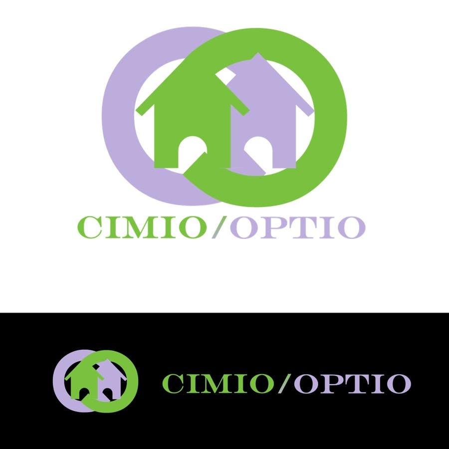 Kilpailutyö #                                        51                                      kilpailussa                                         Logo Design for CIMIO / OPTIO Real Estate App