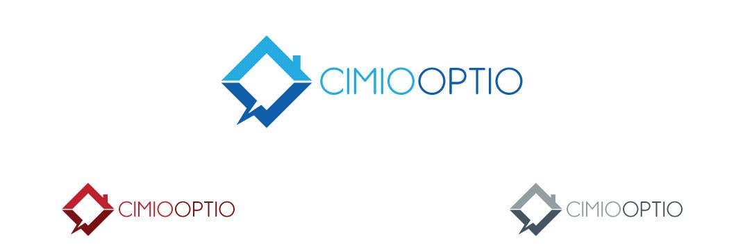 Konkurrenceindlæg #                                        240                                      for                                         Logo Design for CIMIO / OPTIO Real Estate App