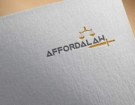 #6 for I need a logo for my lawyer referral site called: affordalaw. Its related to getting affordable legal servies. Thank you. by zubair141