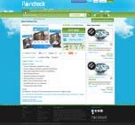 Graphic Design Konkurrenceindlæg #34 for Website Design for Raincheck
