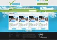 Graphic Design Konkurrenceindlæg #20 for Website Design for Raincheck