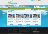 Graphic Design Konkurrenceindlæg #18 for Website Design for Raincheck