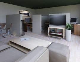 Nro 62 kilpailuun 3D Office Interior and Visualization käyttäjältä amrosamaeg