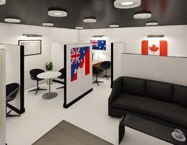 Nro 82 kilpailuun 3D Office Interior and Visualization käyttäjältä amrosamaeg