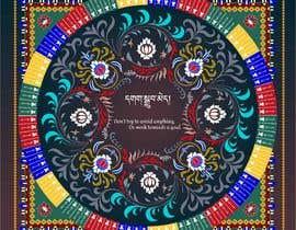 Nro 18 kilpailuun Creating art work murals in AI with Tibetan (just a few character),  English translations käyttäjältä juliasha777
