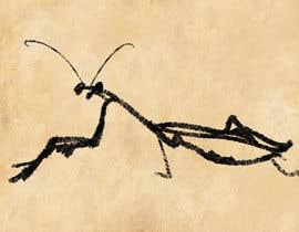 #18 cho Praying Mantis Illustration bởi walid3