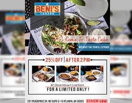 nº 17 pour Graphic Design - Promo Flyer - Benis par prabhjotsajjan